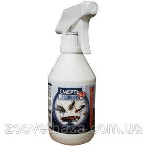 Купить Инсектицид Смерть вредителям №2 спрей 250мл почтой | фирмы Украина | Магазин