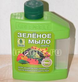 Зеленое мыло — инсектицид от вредителей, инструкция, применение, рецепты